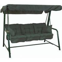 Glendale 3 Seater Swing Seat - Green