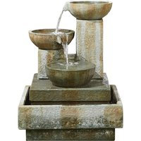 Kelkay Patina Bowls Water Feature - Stone Effect