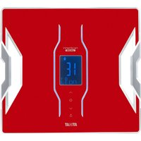 Tanita Bluetooth Connected Smart Scale with Body Composition Monitor - Red