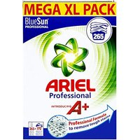 Ariel Professional XXL Giga Pack Regular Washing Powder - 265 Professional Washes (Approx 530 Home Washes)