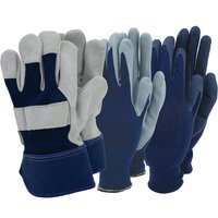 Town & Country Mens Gloves - Triple pack