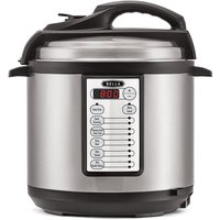 Bella Electric 6L Pressure Cooker - Black