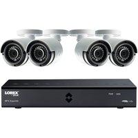Lorex CCTV 8 Channel Super HD 4MP DVR 2TB + 4 x 4MP Super HD Cameras