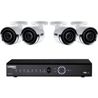 Lorex CCTV 8 Channel 4K Ultra HD NVR 2TB + 4 x 4MP Super HD Cameras