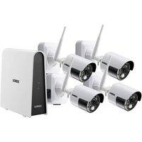Lorex CCTV 6 Channel 1080p HD 2MP DVR Wire-Free 1TB DVR + 4 x 2MP HD Wire-Free Cameras