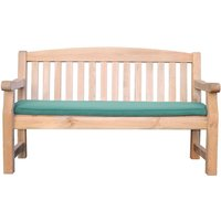 Zest4Leisure Emily 3-Seater Bench and Cushion - Green