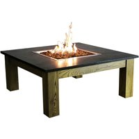 Elementi Amish Coffee Table Fire Pit