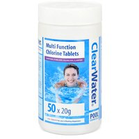 Clearwater Water Treatment - 50 x 20g Tablets
