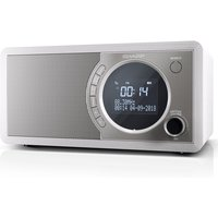 Sharp DAB+ FM Radio with Bluetooth - White DR-450WH