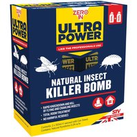 Zero In Natural Insect Killer Bomb - 2 Pack