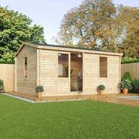 Mercia 34mm Double Glaze Home Office Elite Suite - 5m x 4m