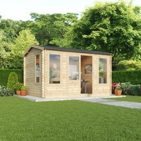 Mercia 28mm Double Glazed Home Office Director Cabin - 4x3m
