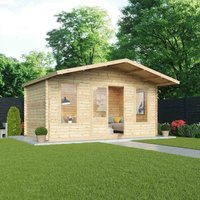 Mercia 28mm Double Glaze Woburn Cabin - 5x3m