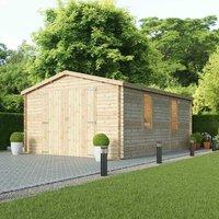 Mercia Single Glazed Garage - 4.2 x 5.7m
