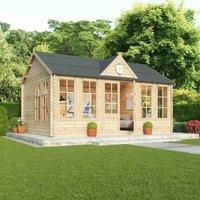 Mercia 44mm Double Glazed Pool House - 4 x 5.5m