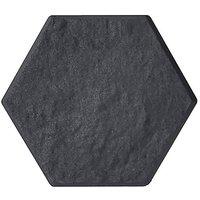 Garden Centra Stomp Stone Hexagon - Slate