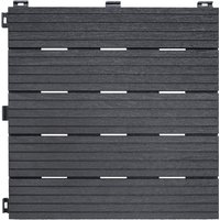 Ez Tile Deck Cosmopolitan Tiles - Steel Grey
