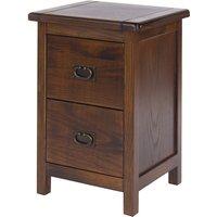 Tilsbury 2 Drawer Petite Bedside Cabinet