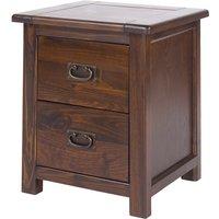 Tilsbury 2 Drawer Bedside Cabinet