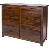 Tilsbury 3+3 Drawer Wide Chest