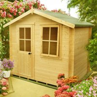 Shire Avesbury Log Cabin - 7ft x 7ft