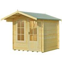 Shire Crinan Log Cabin - 7ft x 7ft