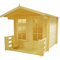 Shire Maulden Log Cabin - 7ft x 7ft
