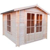 Shire Barnsdale Log Cabin - 9ft x 9ft