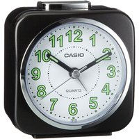 Casio Alarm Clock with Light and Snooze - Black