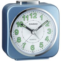Casio Alarm Clock with Light and Snooze - Blue