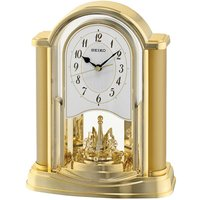 Seiko Swinging Bird Pendulum Wall Clock with Wood Effect Case - Brown