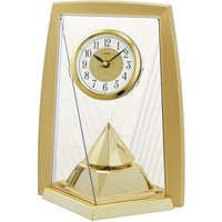 Seiko One Way Rotating Pendulam Clock - Gold