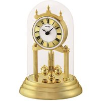 Seiko Anniversary Clock with Rotating Pendulum - Gold