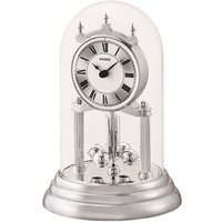 Seiko Anniversary Clock with Rotating Pendulum - Silver