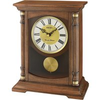 Seiko Wooden Melody Mantel Clock with Pendulum