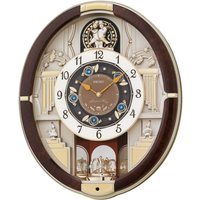 Seiko Analogue Melodies in Motion Wall Clock - 12 Melodies