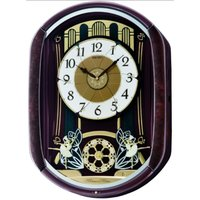 Seiko Melody in Motion wall clock 12 Melodies and 14 LED Lights