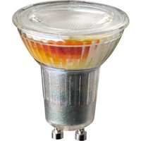 Wofi LED Lamp Bulb transparent GU10 5W 350 Lumen 3000 Kelvin Dimmable - 6 Pack