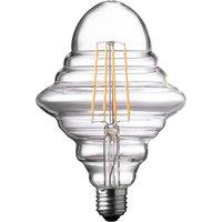 Wofi LED Lamp Bulb Transparent E27 4W 300 Lumen 1800 Kelvin 9760 - 2 Pack