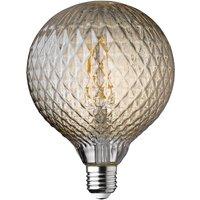 Wofi LED Lamp Bulb Amber Transparent E27 4W 300 Lumen 1800 Kelvin 9763 - 2 Pack