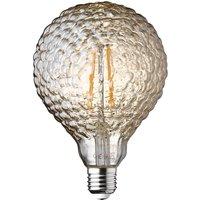 Wofi LED Lamp Bulb Amber Transparent E27 4W 300 Lumen 1800 Kelvin 9764 - 2 Pack