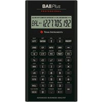 Texas BAII PLUS PROFESSIONAL Financial Calculator