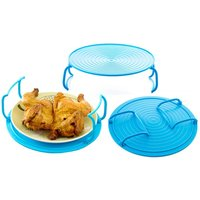 Rex Brown Microwave Tray Dish and Rack