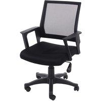 Corporate Presentation Corinthia Loft Home Office Chair with Mesh Back - Black