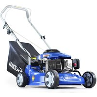 Hyundai HYM400P 79cc 4-stroke Petrol Push Rotary Lawn Mower 40cm Cutting Width