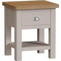Elmridge 1 Drawer Lamp Table