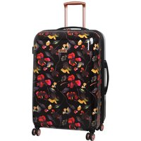 Rock 72cm Montana Expandable 8 Wheel Hard Shell Spinner Suitcase - Dark Floral