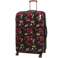 Rock 82cm Montana Expandable 8 Wheel Hard Shell Spinner Suitcase - Dark Floral