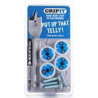 Grip It Gripit TV Kit