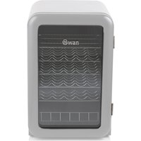 Swan SR16220GRN 115L Retro Cooler - Grey